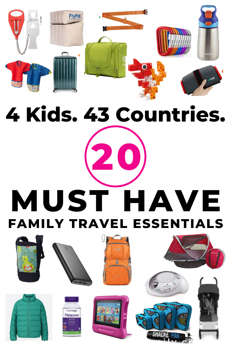 must have family travel essentials