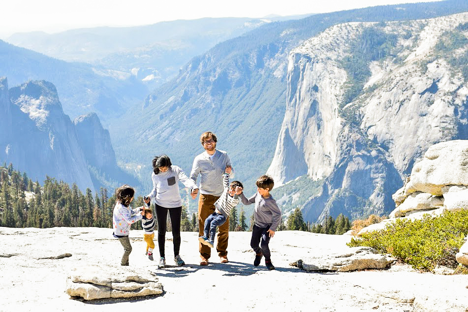 sentinel dome best yosemite hikes with kids