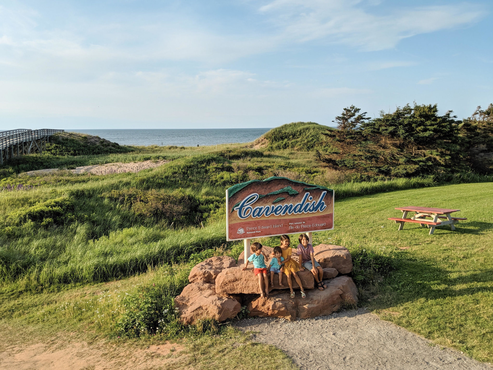 Ultimate Guide to Prince Edward Island with Kids, featured by top US family travel blog, Local Passport Family | prince edward island with kids cavendish beach