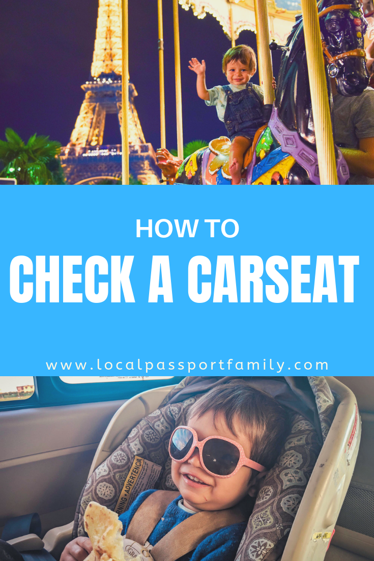 how to check a carseat for toddlers
