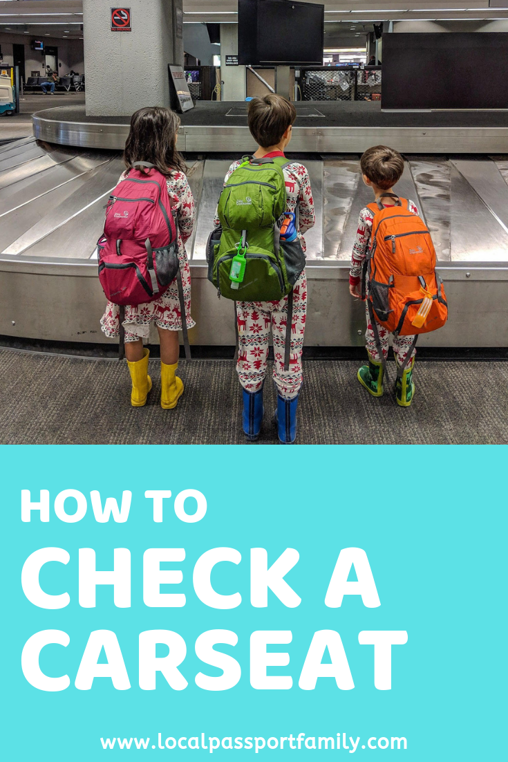 how to check a car seat