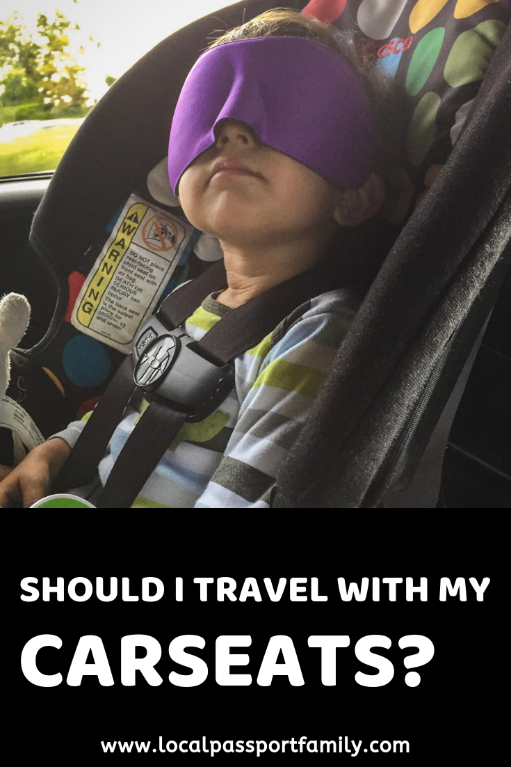 should I take my carseat for travel