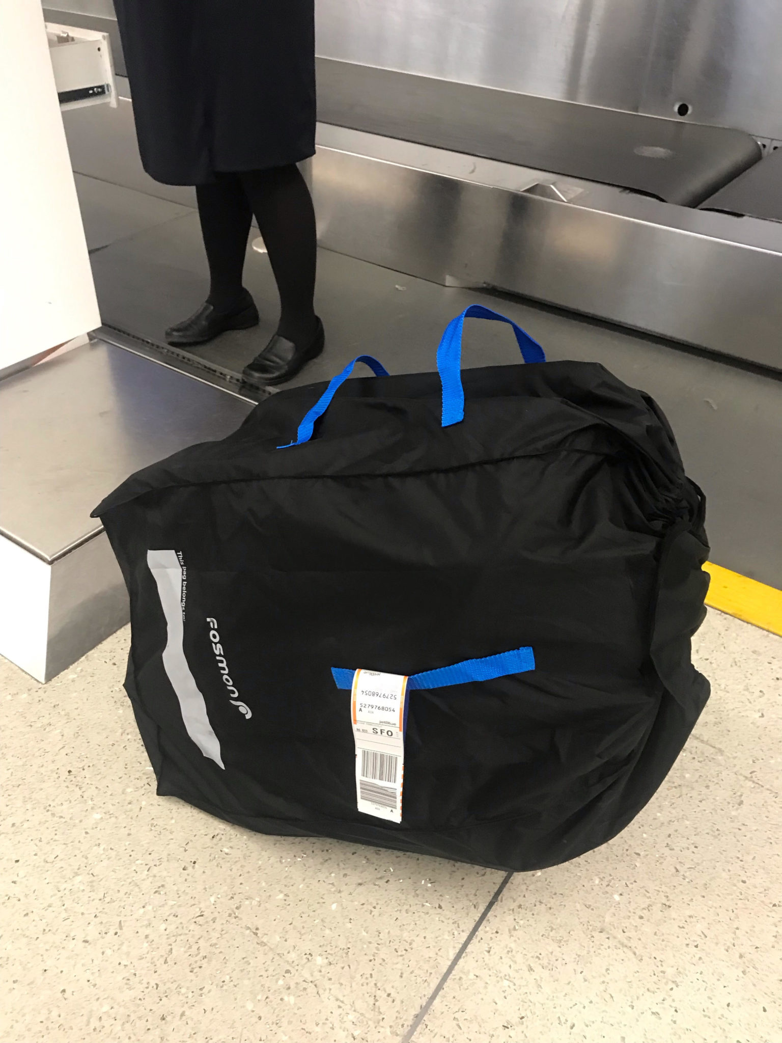 car seat travel bag when traveling with a carseat