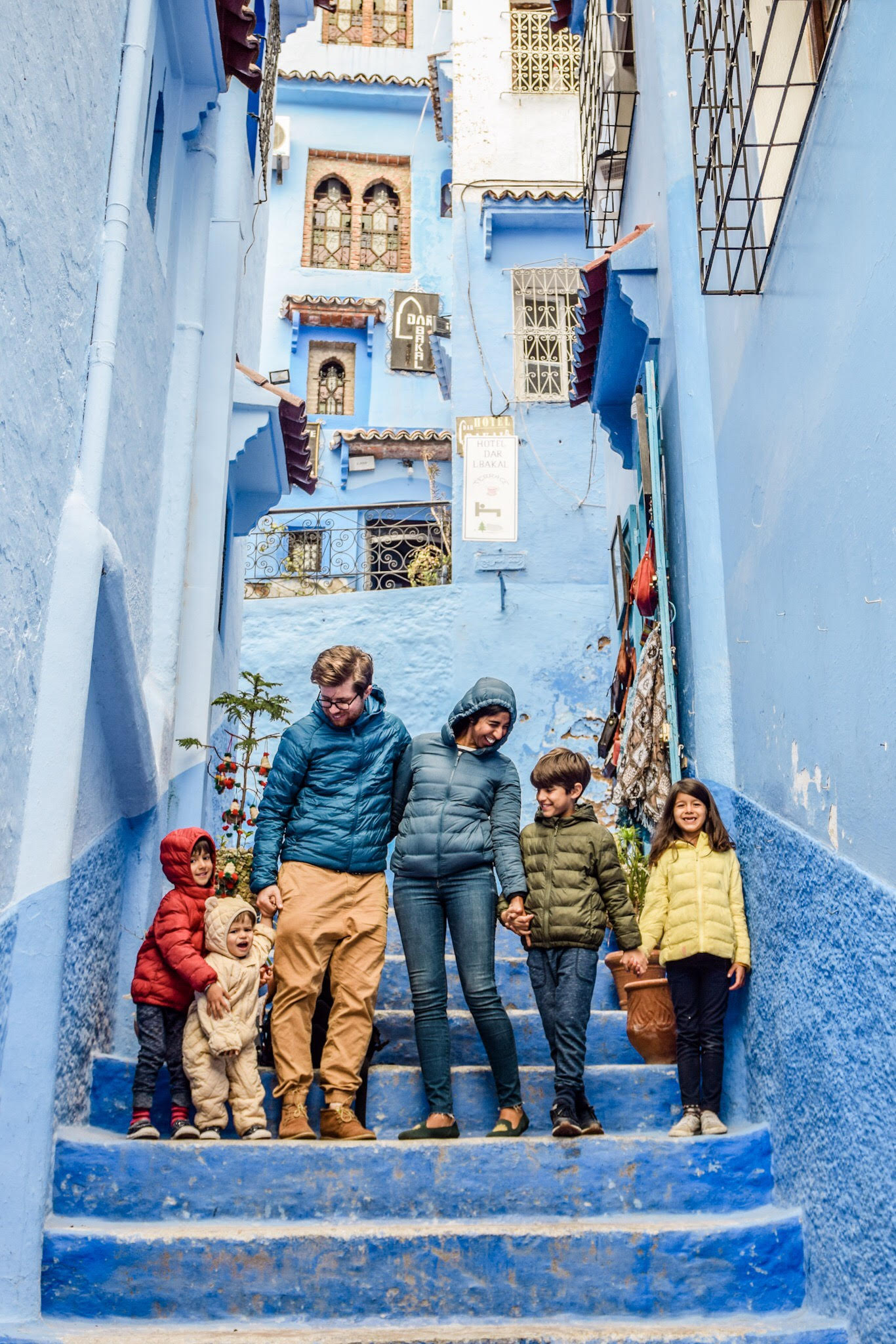 family travel chefchaouen morocco