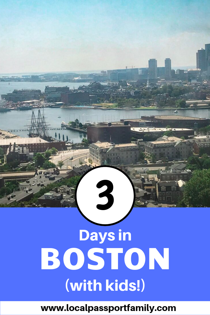 3 days in boston itinerary