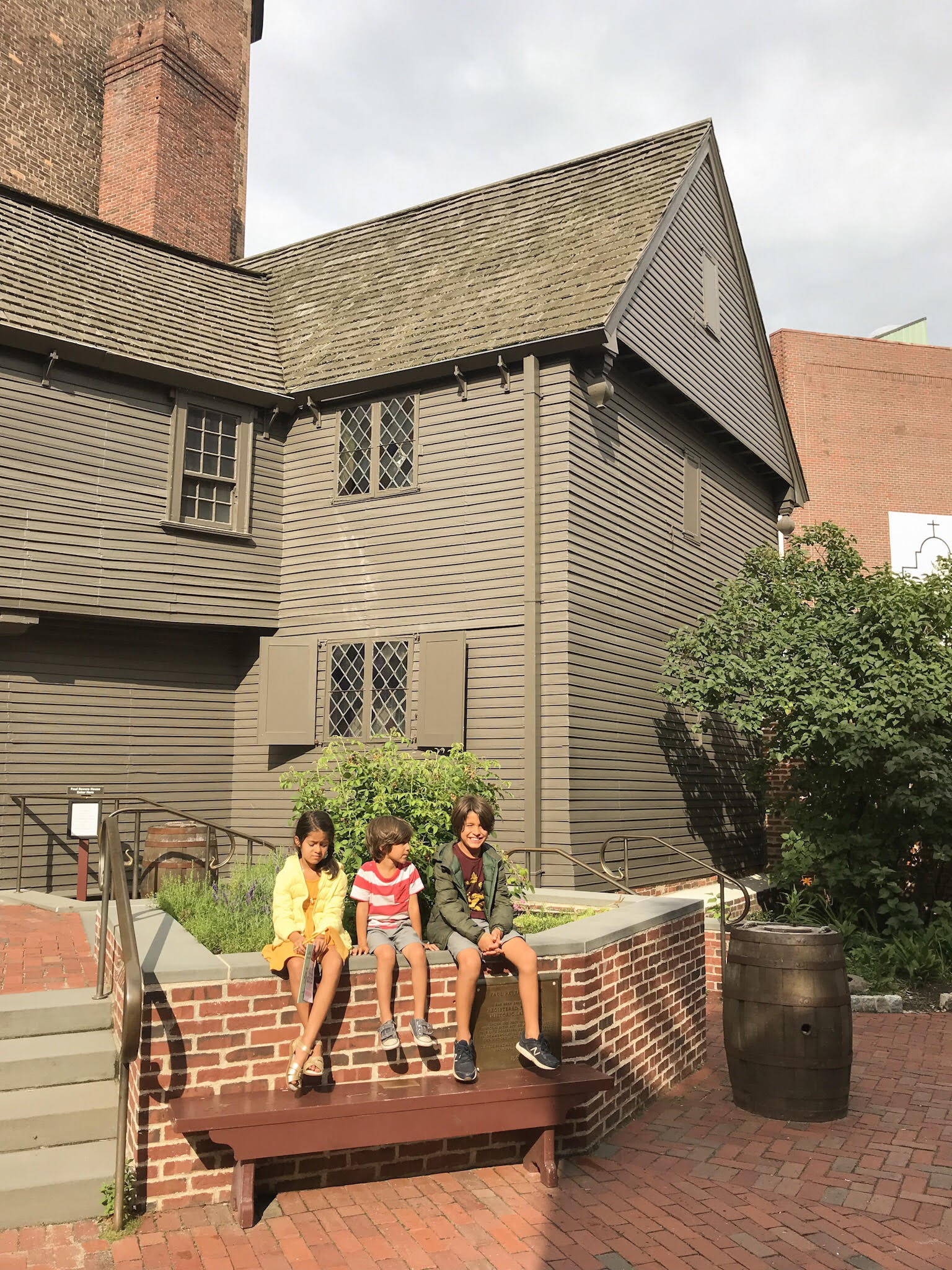 paul revere house with kids
