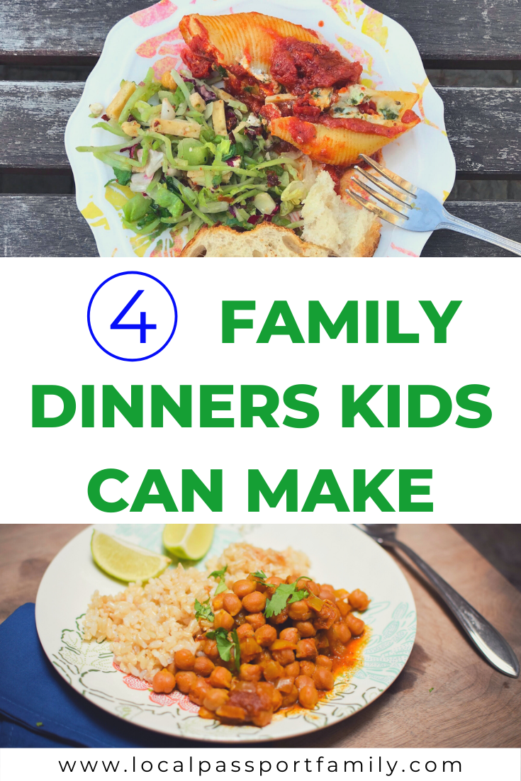 family dinners kids can make by themselves