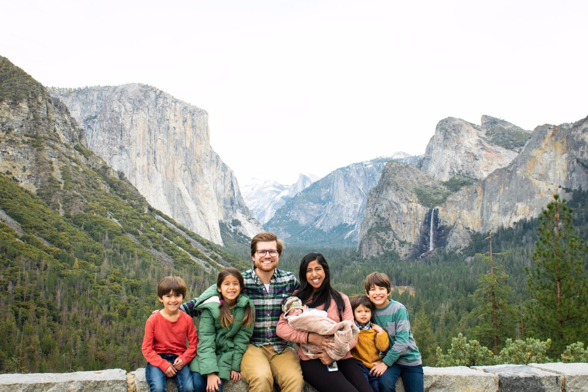 yosemite camping with kids