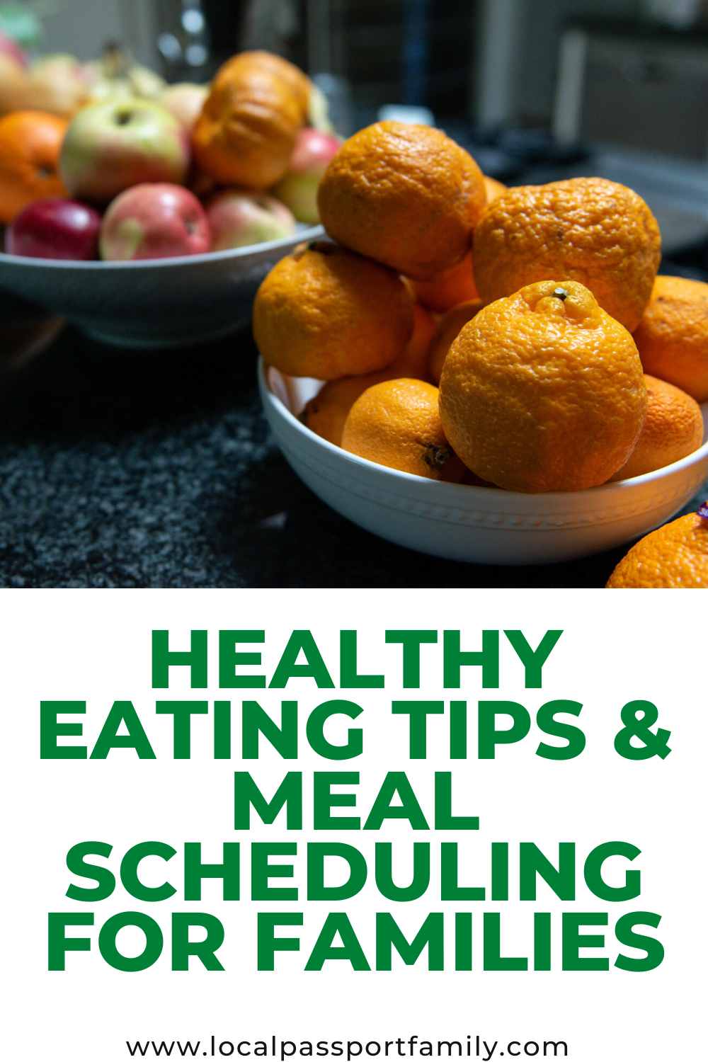 healthy eating tips for kids and meal schedule for families