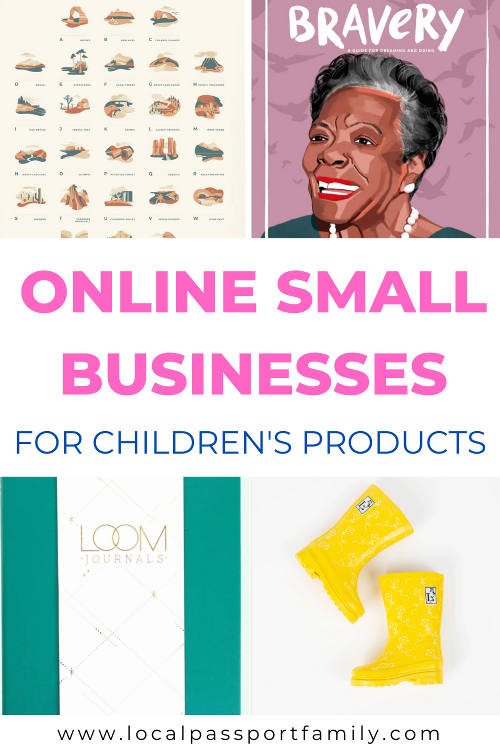 list of small businesses that sell children's products online