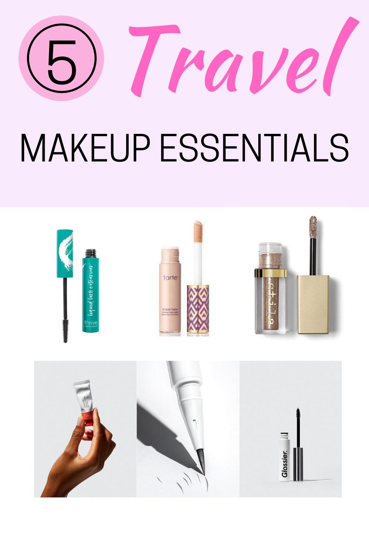 5 travel makeup essentials