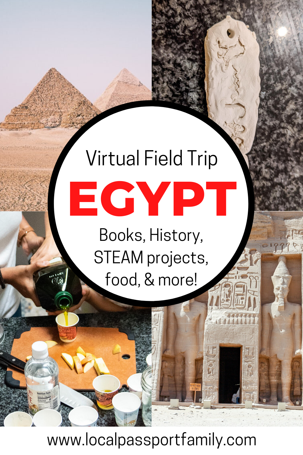 egypt virtual field trip with kids