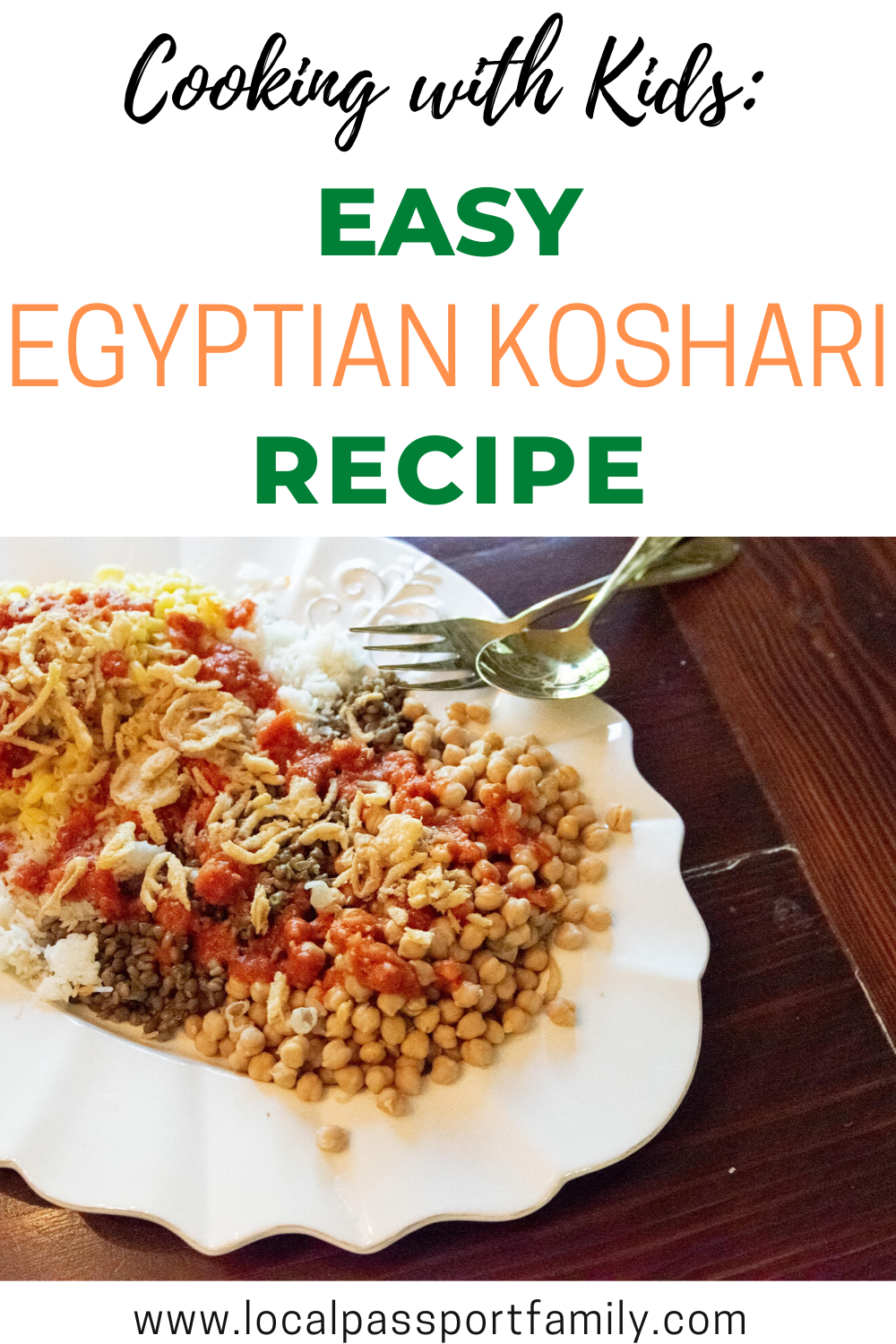 easy egyptian koshari recipe