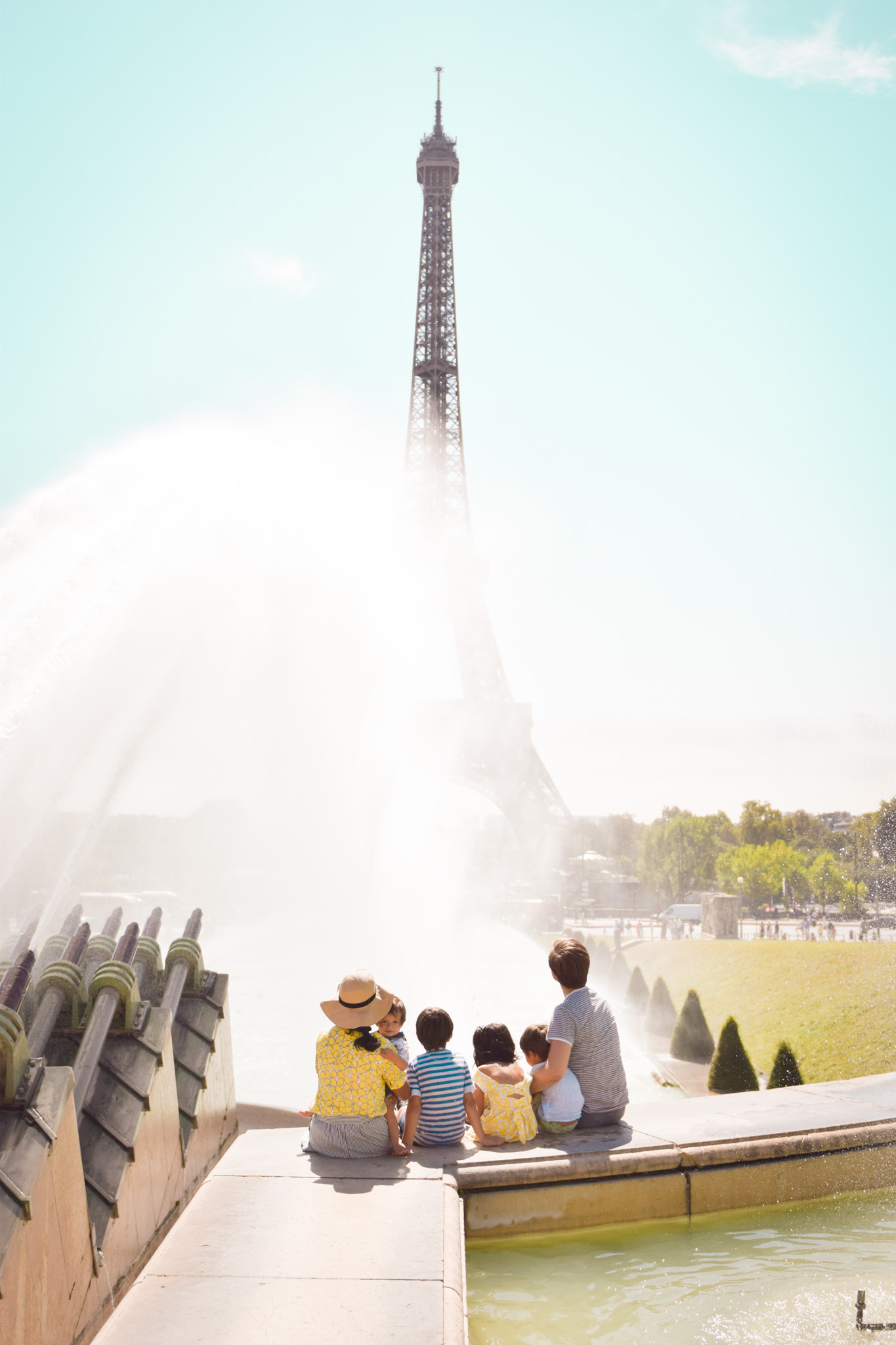 eiffel tower france with kids