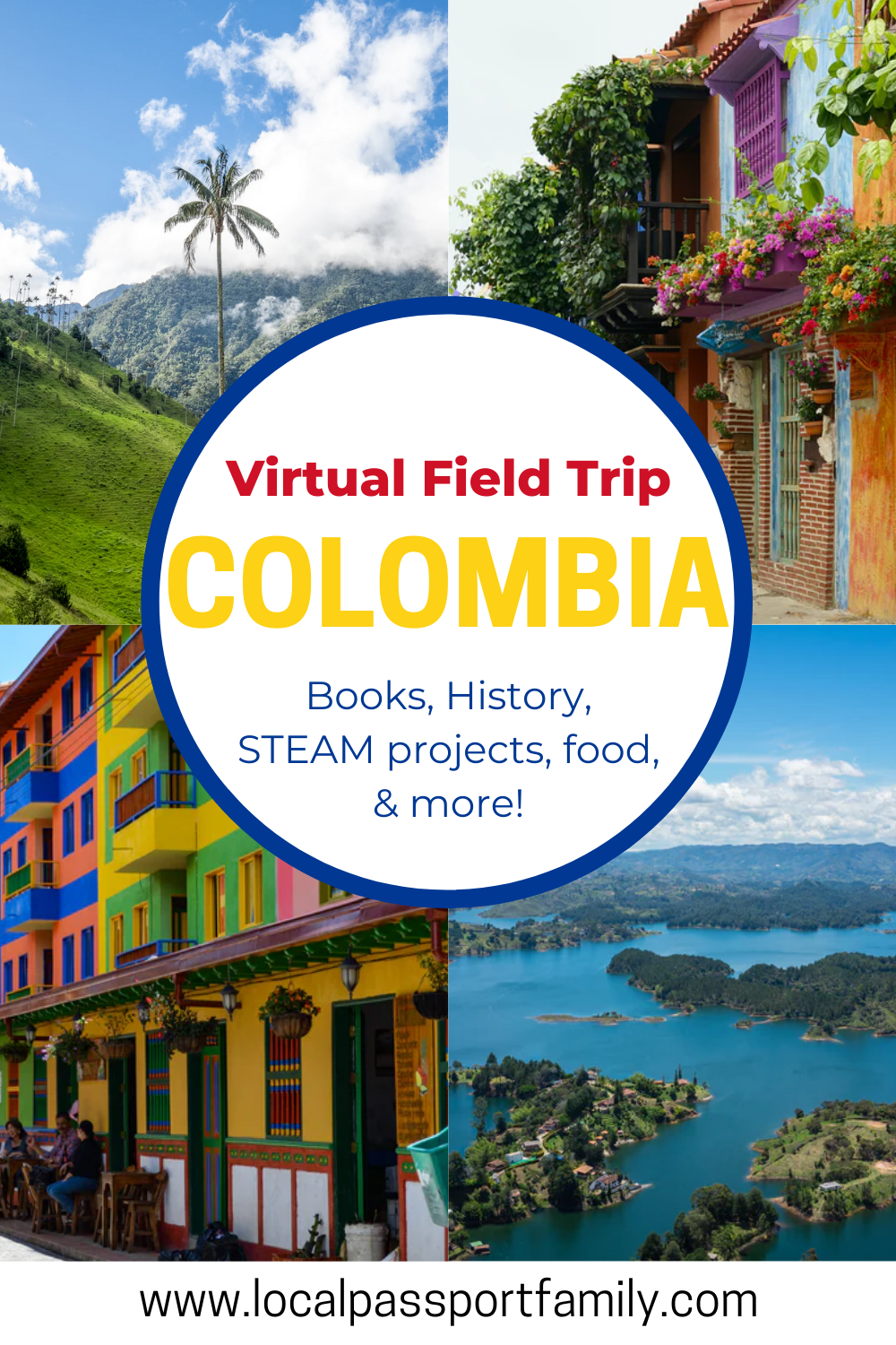 colombia with kids virtual tour