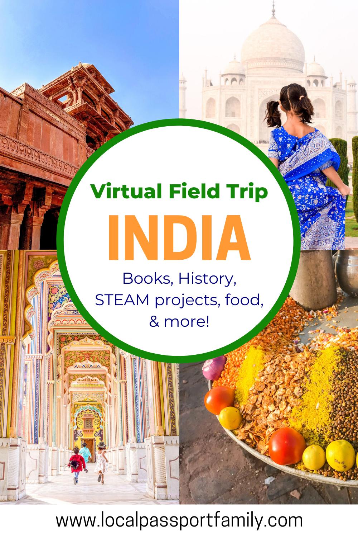 india virtual tour for kids