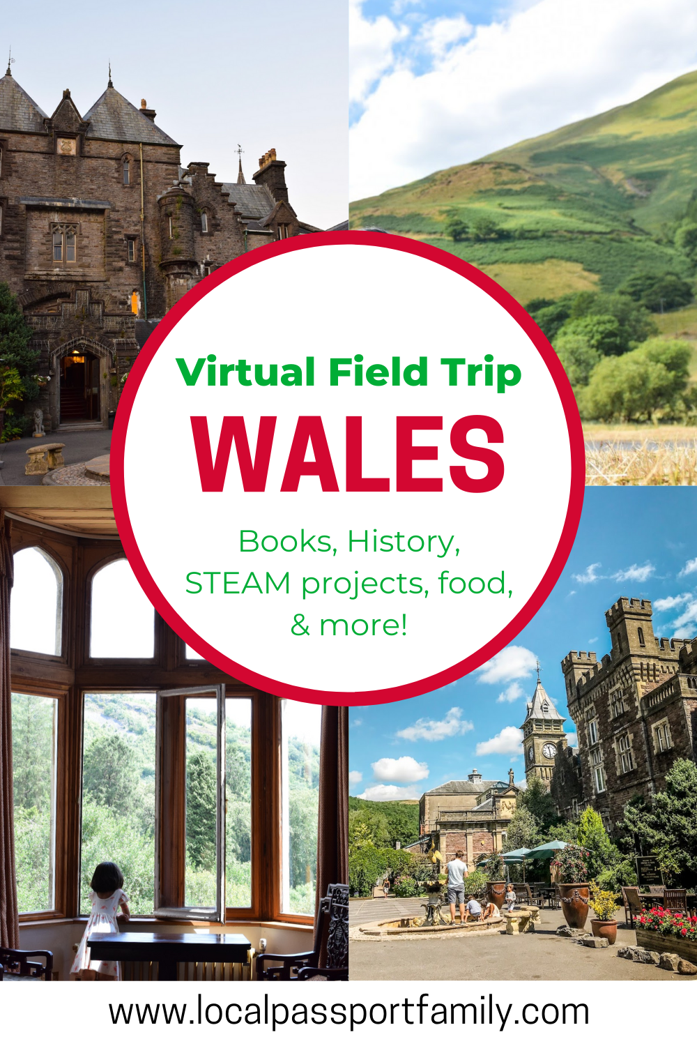 wales for kids virtual tour