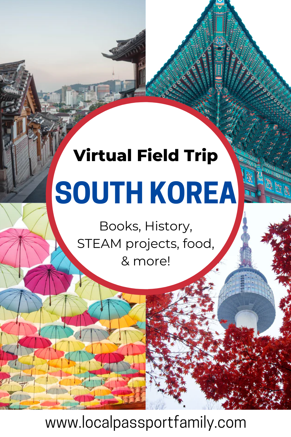 south korea for kids virtual tour