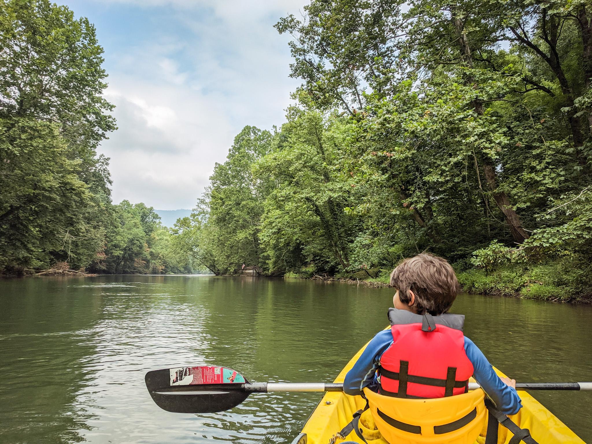kayaking jackson river covington virginia