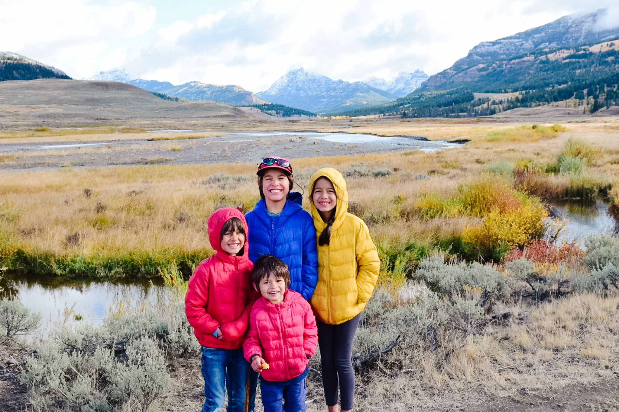 lamar valley yellowstone itinerary with kids