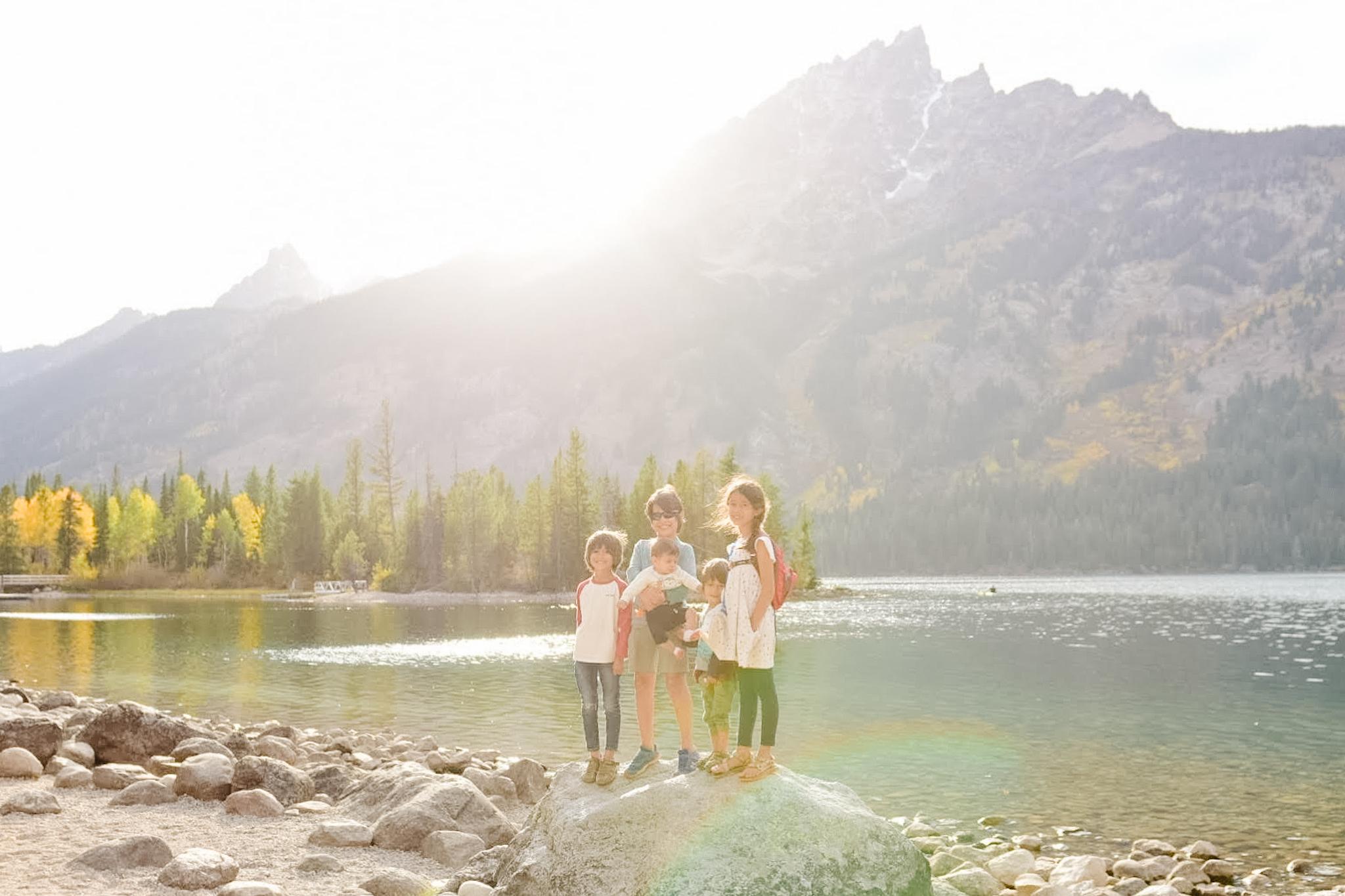 explore grand teton with kids