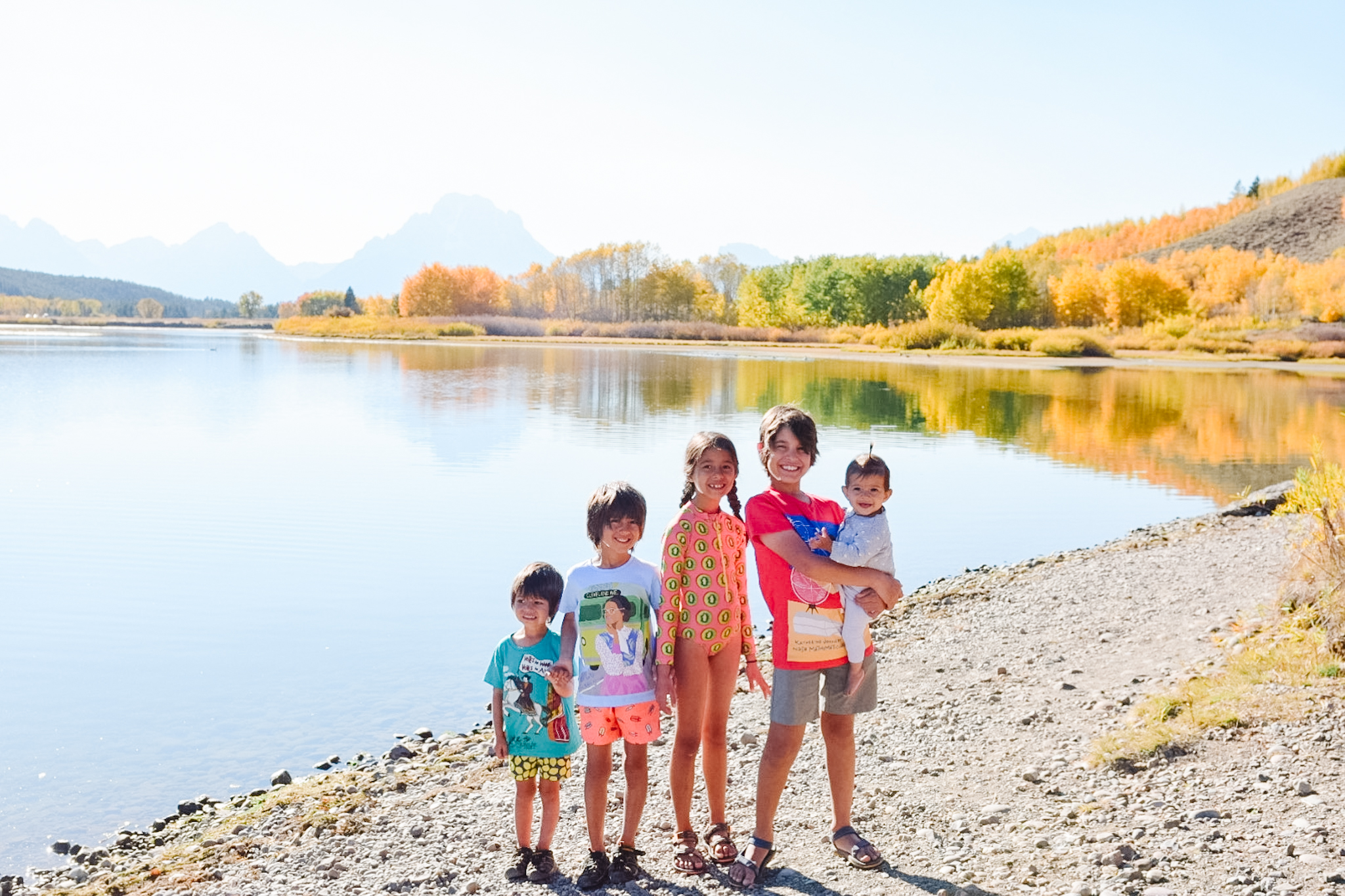 visiting grand teton with kids