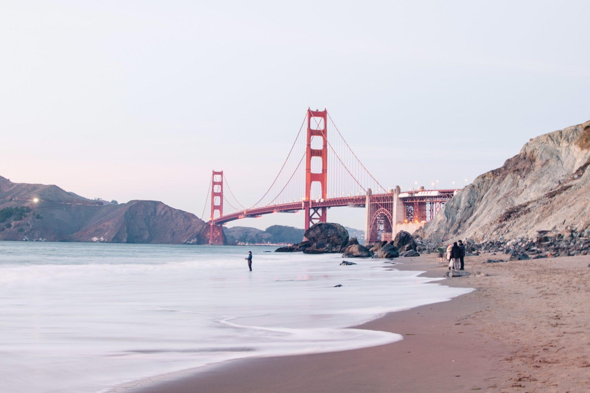 Best views of the Golden Gate Bridge San Francisco