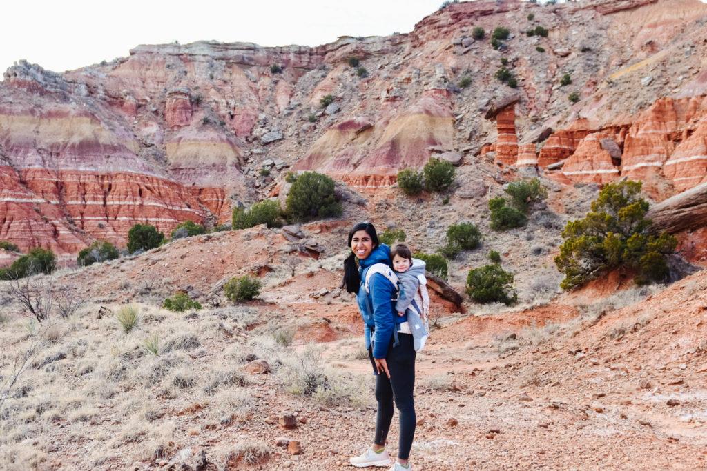 palo duro hiking with kids